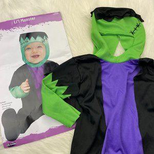 Baby Frankenstein Halloween Costume 12-24 months